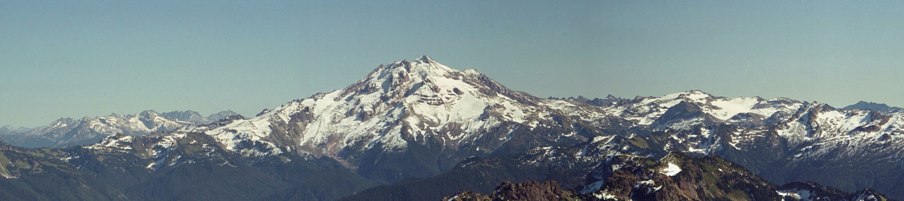 Skiing the Cascade Volcanoes: Glacier Peak