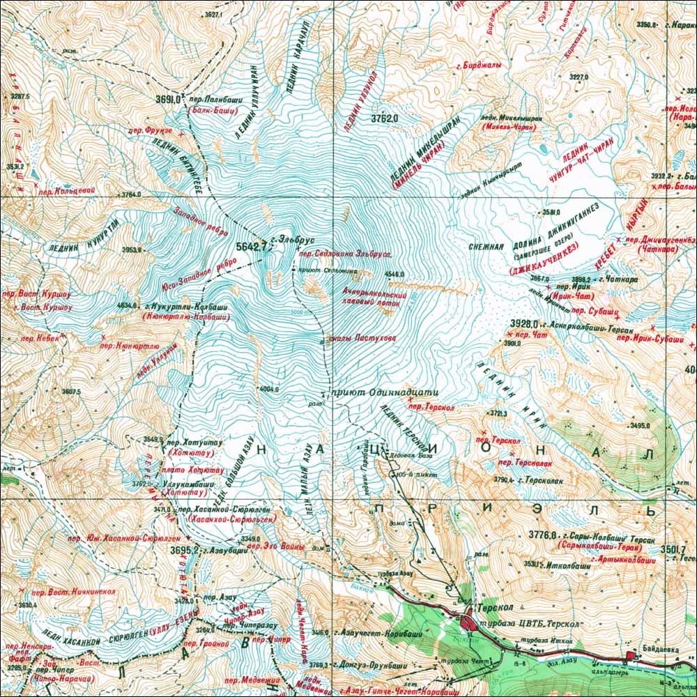 Volcanic Seven Summits  Climbing Hiking  Mountaineering - Volcanoes in usa map