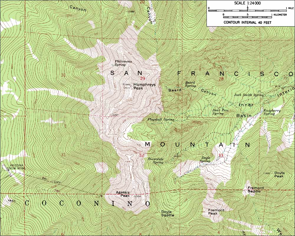Skiing the Pacific Ring of Fire and Beyond: Humphreys Peak