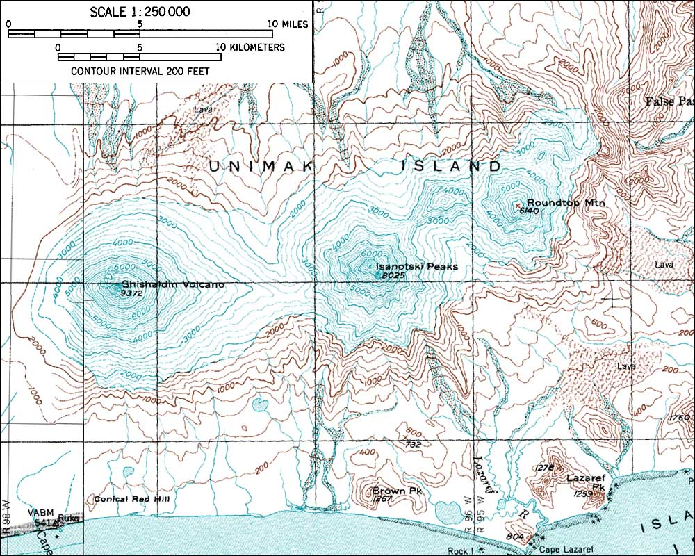 Pacific Ocean Topographic Map.Skiing The Pacific Ring Of Fire And Beyond Shishaldin Volcano