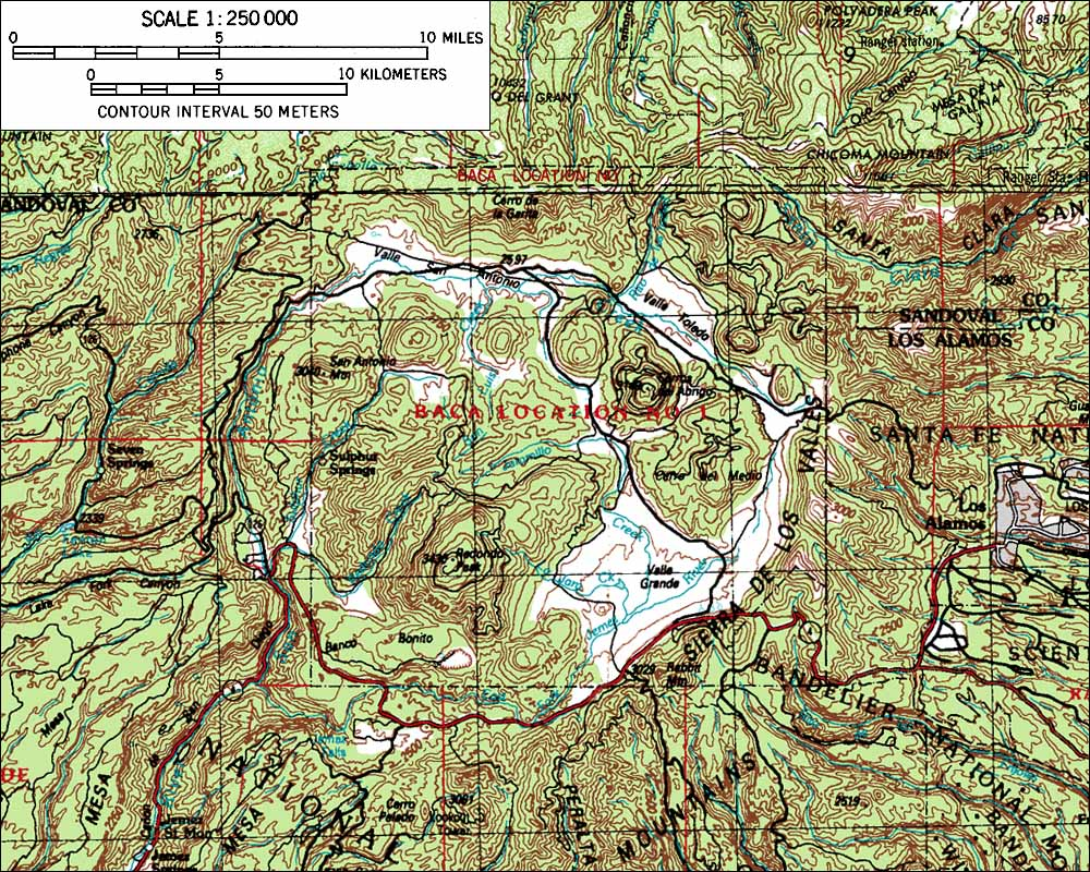 Skiing The Pacific Ring Of Fire And Beyond Valles Caldera - Calderas in the us map