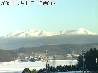 Higashikawa webcam - Daisetsuzan, Higashikawa webcam, Hokkaido, Kamikawa